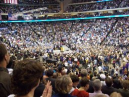 Enormous Crowd Watches Obama Speak