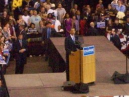 Close up of Obama