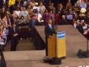 Close up of Obama